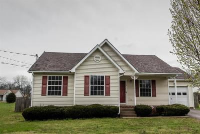 Columbia Single Family Home Under Contract - Not Showing: 112 Tommy Dr