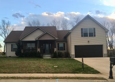 Clarksville Single Family Home Under Contract - Not Showing: 120 Verisa Dr