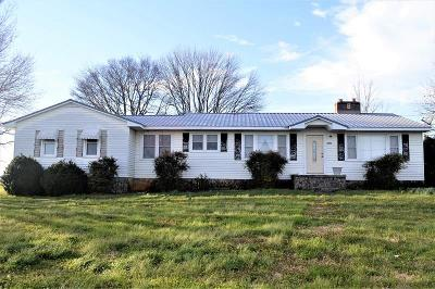 Franklin County Single Family Home Under Contract - Not Showing: 3845 Old Alto Highway