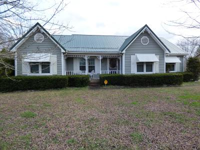 Clarksville Single Family Home Under Contract - Showing: 3231 E Old Ashland City Rd