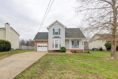Clarksville Single Family Home Under Contract - Not Showing: 1033 Summerhaven Rd