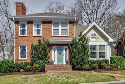 Nashville Single Family Home For Sale: 60 Brookhill Cir