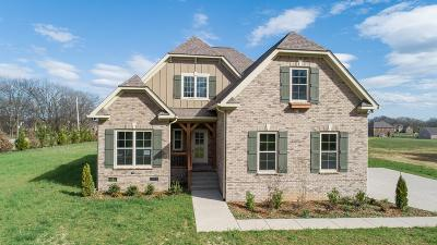 Spring Hill  Single Family Home For Sale: 2016 Lequire Lane Lot 261