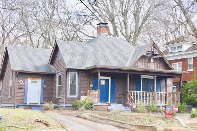 Clarksville Single Family Home For Sale: 1109 Madison St