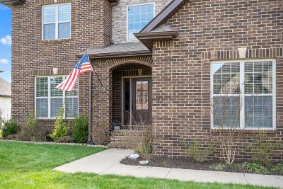 Adams, Clarksville, Springfield, Dover Single Family Home For Sale: 3108 Carrie Taylor Cir