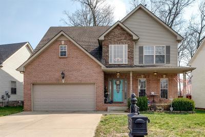 Clarksville Single Family Home For Sale: 3471 Melrose Dr