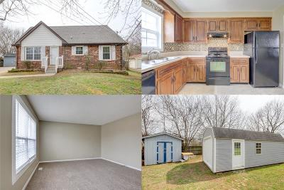 Clarksville Single Family Home Under Contract - Not Showing: 612 Bay Ln