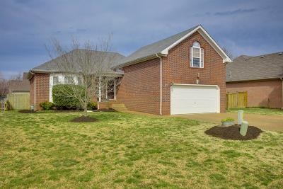 Mount Juliet Single Family Home Under Contract - Showing: 2823 Meadow Gln