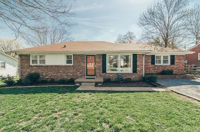 Gallatin Single Family Home Under Contract - Showing: 331 Malone Dr