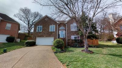 Brentwood Single Family Home For Sale: 117 Autumn Oaks Ct
