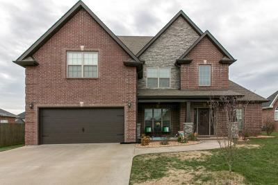 Clarksville Single Family Home For Sale: 392 Waylon Ct