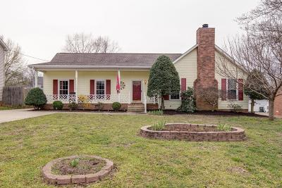 Hermitage Single Family Home Under Contract - Not Showing: 636 Old Lebanon Dirt Rd