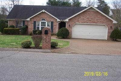 Hendersonville Single Family Home Under Contract - Showing: 1011 W Victoria Ln