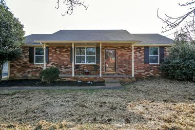 Murfreesboro Single Family Home Under Contract - Showing: 4925 Major Dr