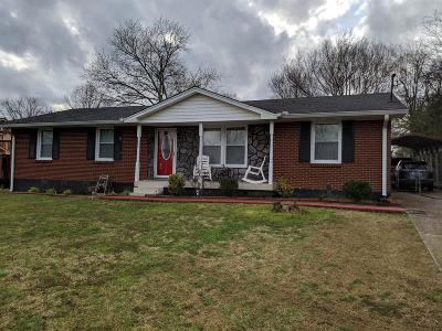 Goodlettsville Single Family Home Under Contract - Not Showing: 511 Monica Ave