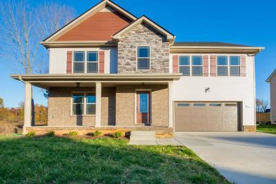 Clarksville Single Family Home For Sale: 268 Towes Ln