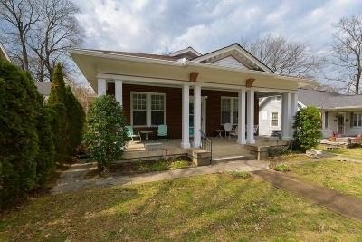 Nashville Single Family Home For Sale: 2005 19th Ave S