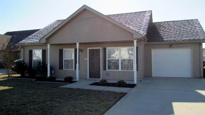 Clarksville Single Family Home Under Contract - Showing: 518 Oakmont Dr