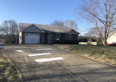 Clarksville Single Family Home For Sale: 736 Jace Dr