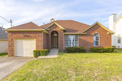 Old Hickory Single Family Home For Sale: 636 Hardin Shire Dr