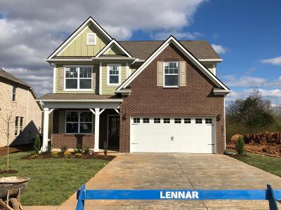 Murfreesboro Single Family Home For Sale: 3126 Rift Lane Lot 38