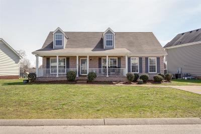Spring Hill Single Family Home Under Contract - Showing: 2237 Dewey Dr