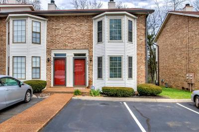 Hendersonville Condo/Townhouse For Sale: 250 Sanders Ferry Rd Apt 66