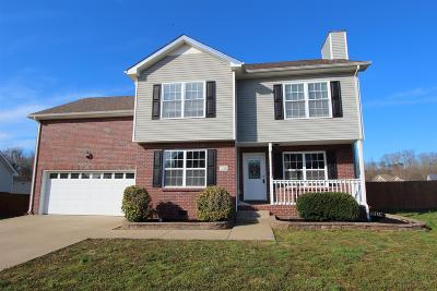 Clarksville Single Family Home For Sale: 1233 Channelview Dr