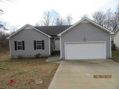 Clarksville Single Family Home For Sale: 1672 Parkside Dr