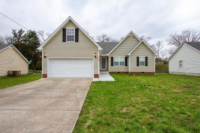 Murfreesboro Single Family Home Under Contract - Showing: 3443 Hardwood Dr