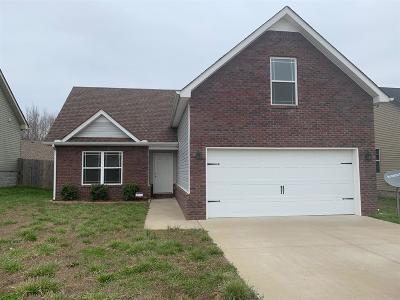 Clarksville Single Family Home For Sale: 837 Shelton Cir