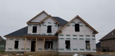 Murfreesboro Single Family Home For Sale: 4011 Edmond Dr (Lot 104)