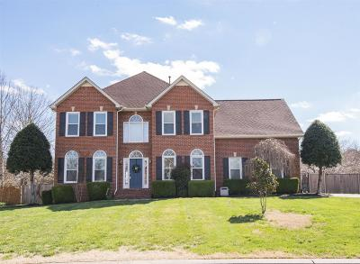 Murfreesboro Single Family Home For Sale: 3118 Evreux Dr
