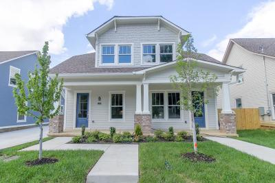 Sylvan Park Condo/Townhouse For Sale: 552 Acklen Park Drive