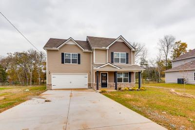 Lavergne Single Family Home Under Contract - Not Showing: 122 Chyntara Drive