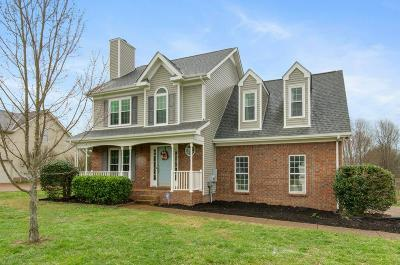 Thompsons Station Single Family Home Under Contract - Showing: 2813 Bloomfield Dr