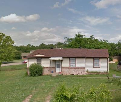Clarksville Single Family Home Under Contract - Not Showing: 832 Country Club Dr