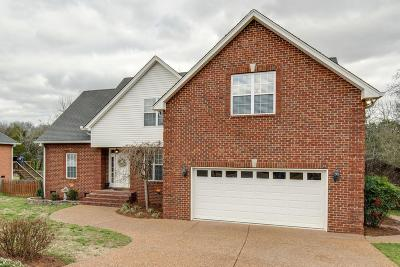Mount Juliet Single Family Home For Sale: 607 Sophia Ct