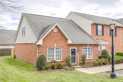 Williamson County Condo/Townhouse Under Contract - Showing: 1101 Downs Bl