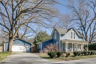 Franklin Single Family Home Under Contract - Not Showing: 423 Eddy Ln