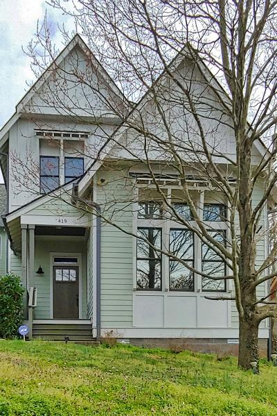 Nashville Single Family Home For Sale: 419 Lakehurst Dr