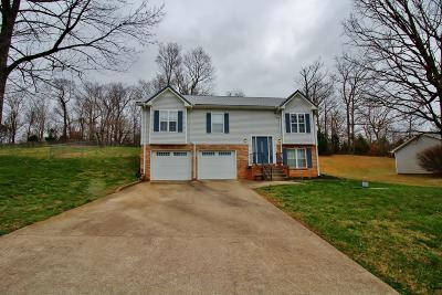 Clarksville Single Family Home Under Contract - Not Showing: 533 Barney Lane