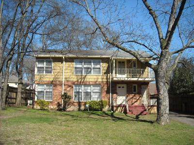 Nashville Multi Family Home Under Contract - Showing: 204 Lauderdale Rd