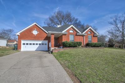 Old Hickory Single Family Home Under Contract - Not Showing: 4501 S Trace Blvd