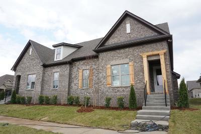 Gallatin Single Family Home For Sale: 1170 West Cavaletti Cir Lot 268