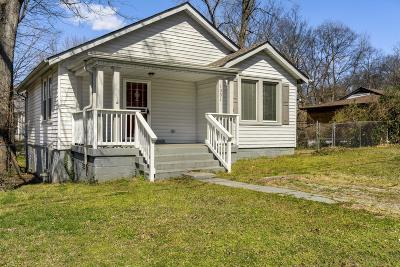 Nashville Single Family Home For Sale: 1301 Otay St
