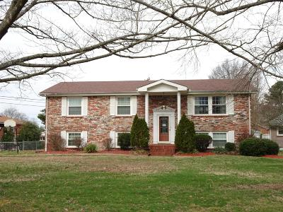 Clarksville Single Family Home Under Contract - Showing: 2143 Post Road