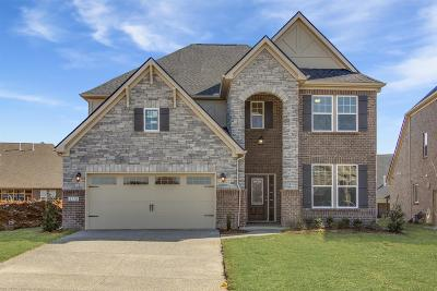 Mount Juliet Single Family Home For Sale: 5176 Giardino Drive Lot # 99