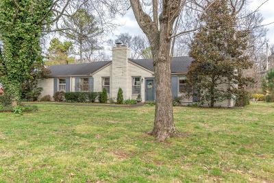 Nashville Single Family Home Under Contract - Not Showing: 1120 Batey Dr