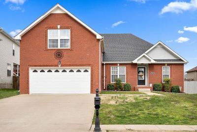 Clarksville Single Family Home For Sale: 1543 Cobra Ln
